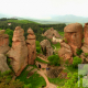 The rock formations of Belogradchik – presented in Serbia