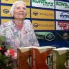 Famous Bulgarian novelist presents new book