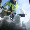 Prisoners to sweep the snow in Burgas