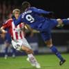 Berbatov opens scoring account with Manchester United