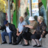 The Prime minister on a meeting, concerning the problems of the elderly people