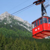 A four seated lift in Chepelare