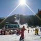 Stars on the opening of the ski season in Bansko