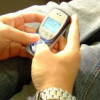 Millions of sms messages in the New Year's Eve