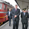 Minister Mutafchiev opened modernized railway stations
