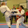 A girl from Pleven - karate vice champion in Paris