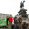 Parallel protest of university students in Sofia and Varna