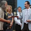 Vesko Topalov receives a star in the Alley of fame