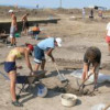 Excavations of an ancient Orthodox church near Varna