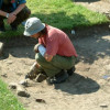 Archaeologists found a golden grave near Sliven