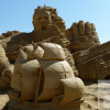 Record setting number of visitors at the sand figures in Burgas