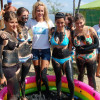 Wrestling in therapeutic mud hosted by the Dutch ambassador and Miss Bulgaria 2009