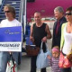 Hungarian family – 1,5th million passenger of the Burgas airport