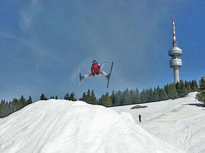 New ski tracks at Pamporovo