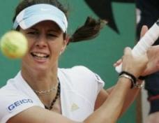Pironkova at the finals of 'Alianz Cup'