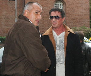Sylvester Stallone again in Bulgaria