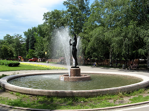 Free wireless Internet in the parks of Sofia