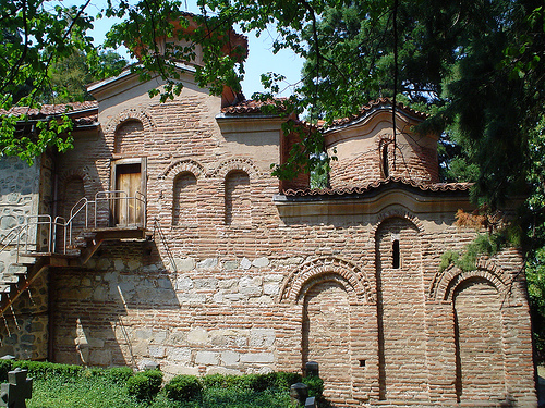 The newly restored Boyana Church opened today