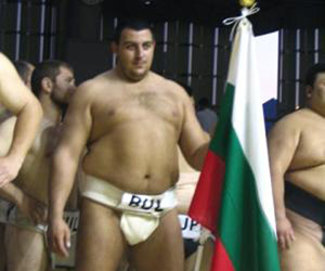 Bulgaria's Petar Stoyanov wins gold medal at USA Sumo Open 2008