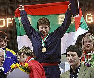 Bulgaria's Zlateva becomes World Wrestling champion for third time