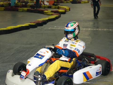 A Formula 1 pilot made a karting show in Bulgaria