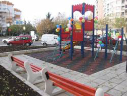 New playground for children in Burgas
