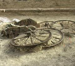 A unique chariot found near Karanovo