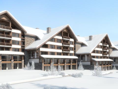 The opening of the ski season in Bansko