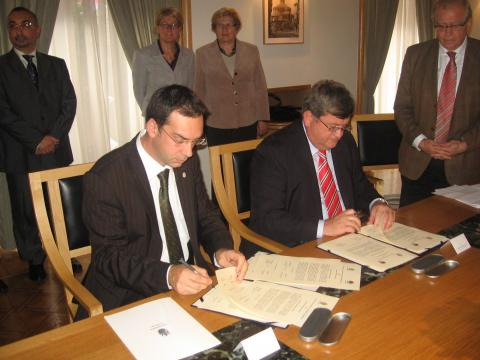 Burgas and Rijeka signed a treaty for collaboration