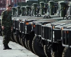 US donates 52 Hummers fleet to Bulgaria's army