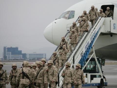 The last Bulgarian contingent came back from Iraq