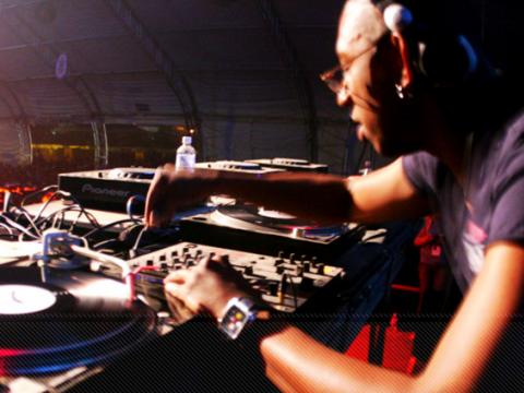 DJ Marky at the first