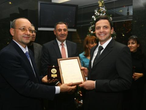 Nikolay Pehlivanov is estate entrepreneur of 2008