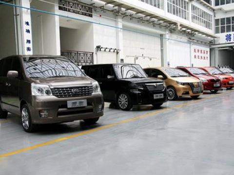 Chinese automobile factory in Bulgaria
