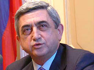 Armenian President on a visit in Bulgaria