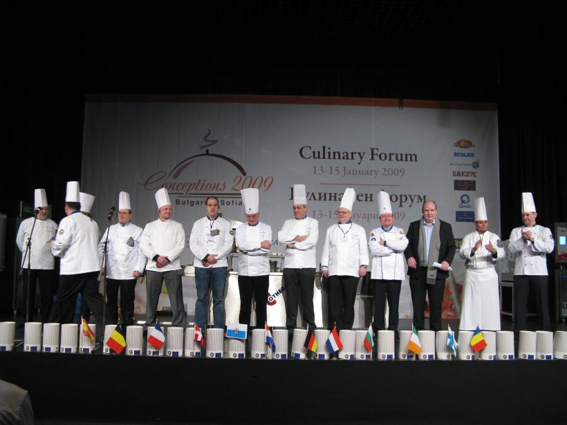 """Concept 2009"" gathered the international culinary elite in Sofia"