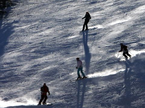 Four ski tracks available in the resort Pamporovo