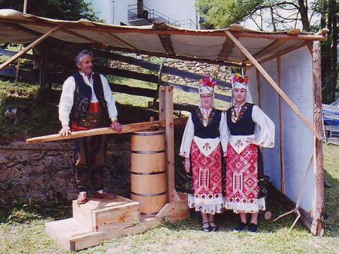 The village Mogilitsa nominated for Unique European village