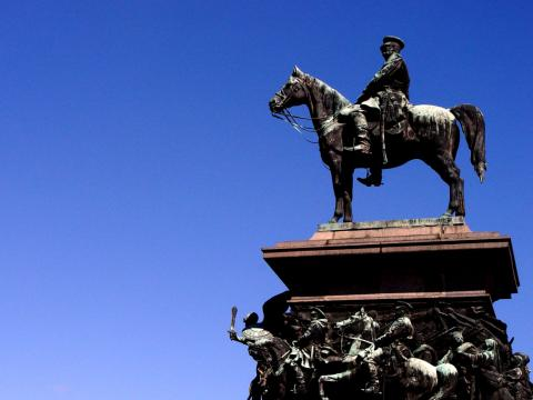 "102nd anniversary of the monument to Alexander II ""The Liberator"""