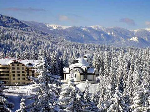 The hotels in Pamporovo – filled during the holidays