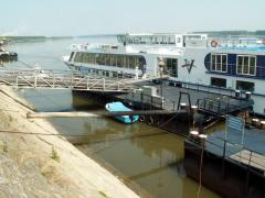A rise of over 70% of passengers through the port in Svishtov