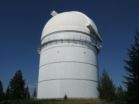The observatory in Rozhen - now accessible to the disabled