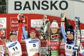 First success for Suter in Bansko