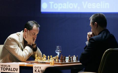 Topalov won the fifth game