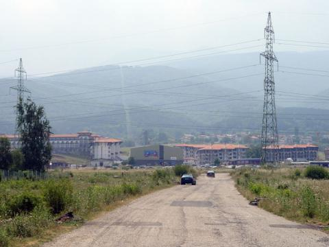Expensive terrains at the foot of the Vitosha mountain