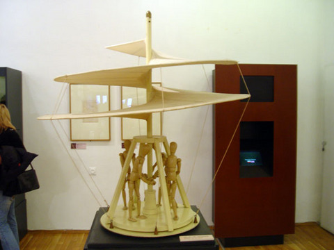 The machines of da Vinci on display in Burgas