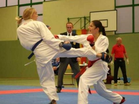 A girl from Pleven – karate vice champion in Paris