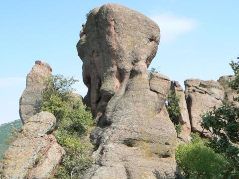The rocks of Belogradchik - fourth in the rankings