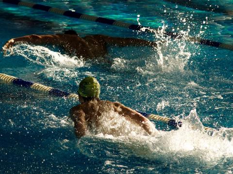 Young swimmers bested four national records