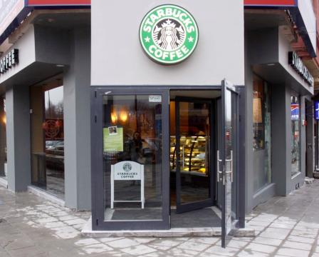 Starbucks opens in Burgas